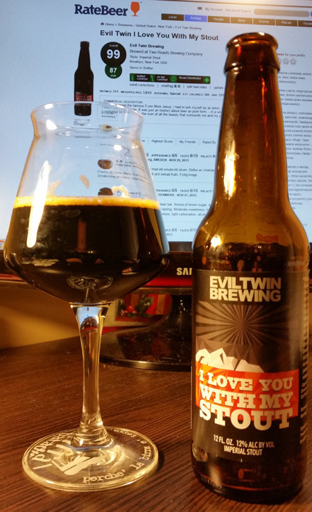Evil Twin - I love you with my stout